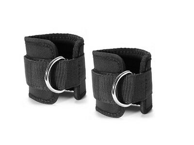 (#2) - Grofitness Ankle Straps Leg Weight Exercise D-ring Ankle Cuff Wrist