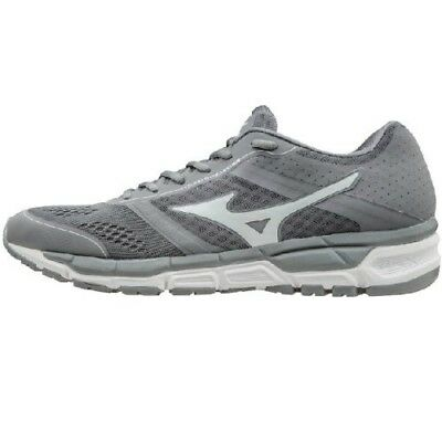 (6 C/D US, Grey/White) - Mizuno Women's Synchro MX Softball Shoe