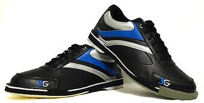 (8.5 US) - Men's Bowling Shoes 3G Classic Pro with Removable Sole Heel