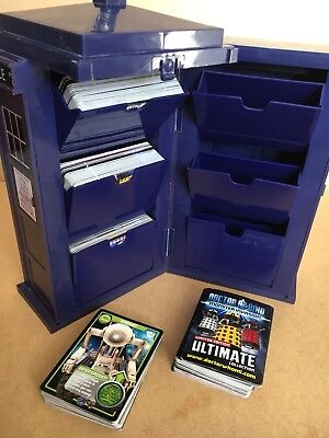 Dr Who Tardis Box & Collectors Cards Over 270 Monster Invasion Extreme Ultimate