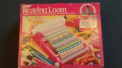 Tomy  Childs Weaving Loom - 40 Pattern Cylinder