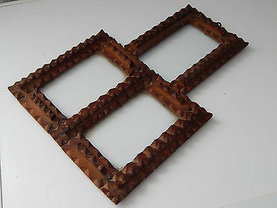 Antique Carved Wood Picture,photo,image Frame,19 Th Century