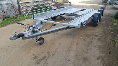 Ifor Williams Car Transporter Trailer