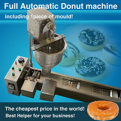 with one free donut mold 300-500 PCS/H Donut Makers,donut frying machine,3KW,CE