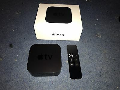 Apple TV 4K 64GB Digital HDR Media Streamer, 1 day old, unwanted gift