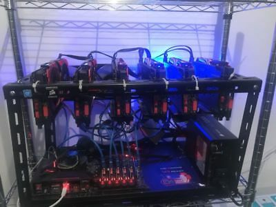 Mining Rig - MSI RX580 8GB - 183 MHs - Ethereum, CryptoCurrency Miner