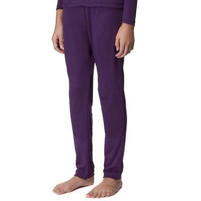 Peter Storm Girls' Thermal Baselayer Pants Layering System Outdoors Purple