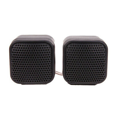 Black DC 12V 500W Tweeters Component Speakers For Car Stereo Audio System(Pair)
