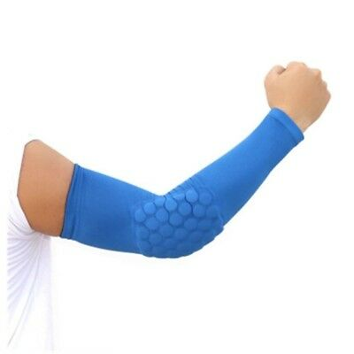 (Blue, X-Large) - Men'S Protective Gear Arm Elbow Basketball Plus Anti-Skid