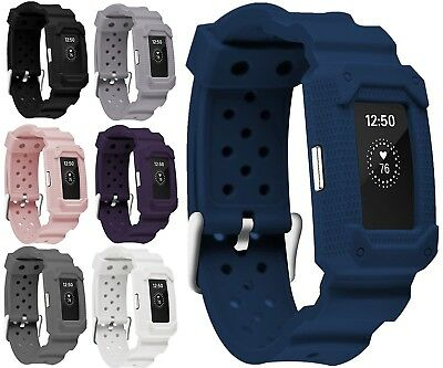 (Blue2) - Greatfine Fitness Smart Watch Bracelet Strap Band for Fitbit Charge