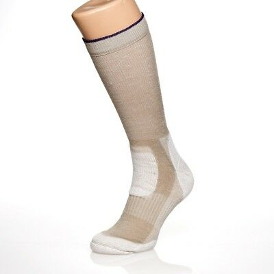 (Desert Sand, X Large) - Armadillo Merino Men's Lightweight Boot Sock Over the