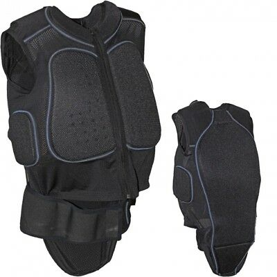 (Black, Large) - Adults Unisex Equestrian Horse Riding Competition Safety