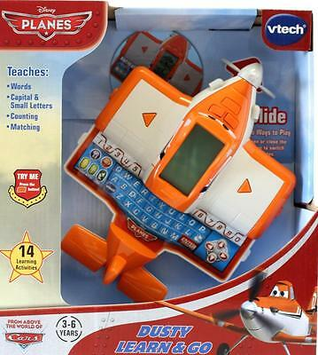 VTech  Disney Planes Dusty PDA Learn & Go Teaches Maths Letters Words New