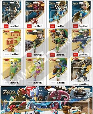 The Legend Of Zelda: Breath Of The Wild Amiibo Collection - New & Sealed