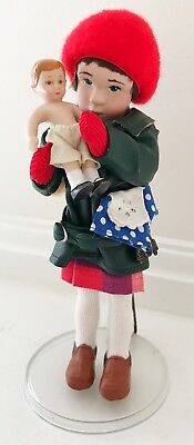"""RUMBLE SEAT """"Mimi"""" Doll Norman Rockwell Porcelain Handcrafted"""