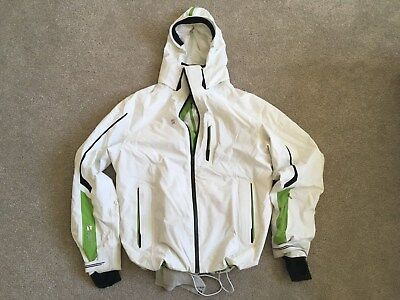 Ski Jacket Mountain Force - Large Mens - white was £600 new, 20,000mm waterproof