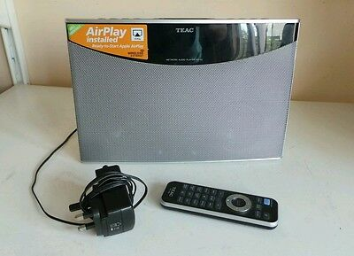 TEAC NS-X1 Airplay Internet Radio Music Streaming Speaker Dock Network Audio Pla