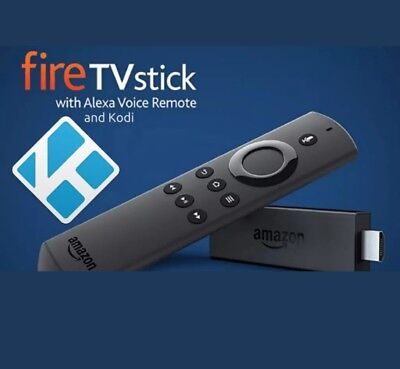 2nd Gen Amazon Fire Stick ✔️Kodi 17.4✔️Movies✔️Sports✔️TV✔️Kids✔️Box Sets