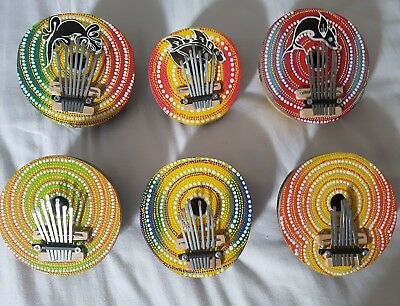 Hand Crafted 7 Note Thumb Piano Karimba / Mbira Fair Trade & Ethically Sourced