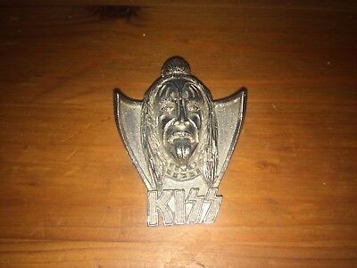 vintage KISS Gene Simmons metal badge