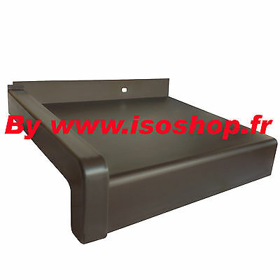 Tablet finestra Argento anodizzato , Offset=50 mm lunghezza=400 mm