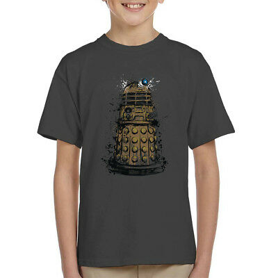 Doctor Who Dalek Exterminate Kid's T-Shirt