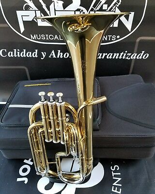 John Packer 072 Lacquer/Silver Eb Alto Horn - Student
