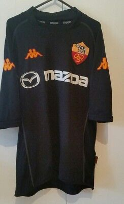 AS Roma 2002 - 2003 3rd Kappa Mazda Shirt size XL ASR Serie A Italy RARE jersey