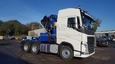 New Volvo FH13 500 6X2 twin wheel tag fitted with a new PM 65026