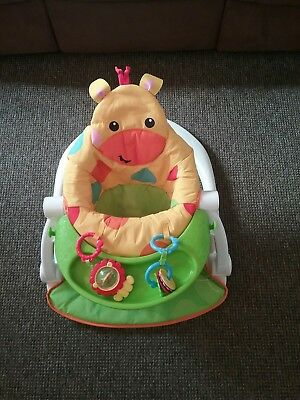 fisher price sit me up floor seat with tray