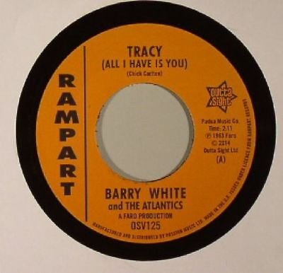 """WHITE, Barry/THE ATLANTICS/SAMMY LEE - Tracy (All I Have Is You) - Vinyl (7"""")"""