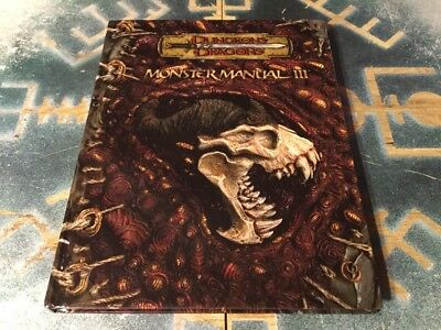 monster manual iii ~ d&d dungeons & dragons 3/3.5 edition ~ wizards