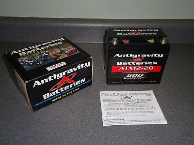 New Antigravity Batteries Battery Lightweight Lithium ATX12-20 R 20-Cell YTX12