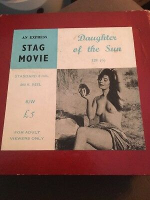 Standard 8 Cine Film Adults Only Film Daughters Of The Sun 200ft Reel B/W