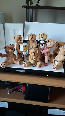 job lot of Bad Taste Bears all loose no boxes