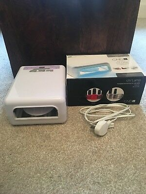 CND UV LAMP For Shellac and Brisa Gel BOXED EXCELLENT CONDITION