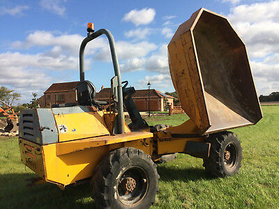 Benford 6 Ton Swivel Dumper, NO VAT! Very clean and reliable, 2003. Bargain!