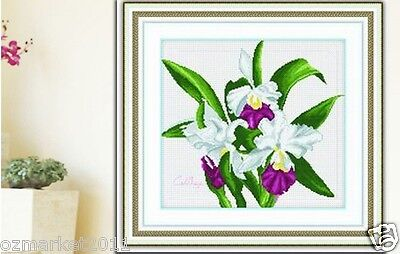 Flowers Decoration Length41*Width37CM Cross-Stitch Lily Warmth Blossom !)