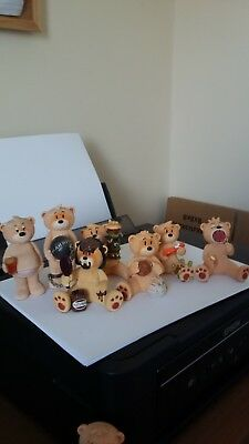 Bad Taste bears Job Lot boxed all in good condition
