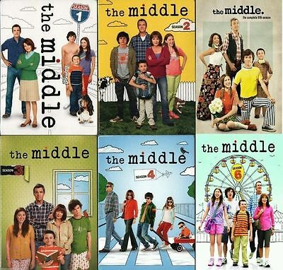 The Middle: Complete Series Seasons 1-6 (DVD, 18-Discs) 1 2 3 4 5 6