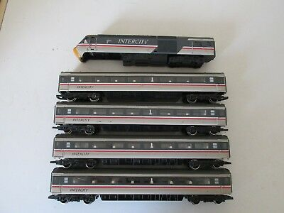 Hornby HST Coaches and Dummy Loco in Grey Swallow Livery Spares/Repairs