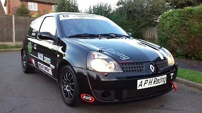 Clio RenaultSport Race Car Renault 172 182 Track MSA