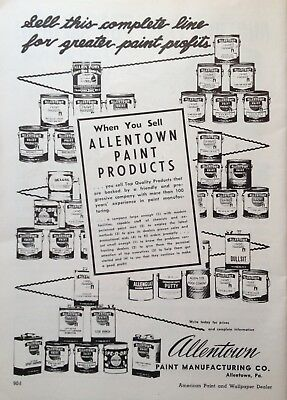 1956 Ad(G17)~Allentown Paint Mfg. Co. Allentown, Pa. Paint Products