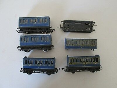 Hornby Caledonian 4 Wheel Coaches for Spares