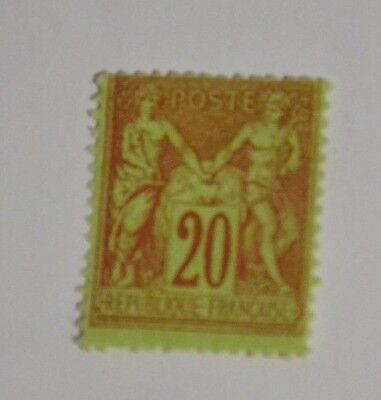 France  Timbre N° 96