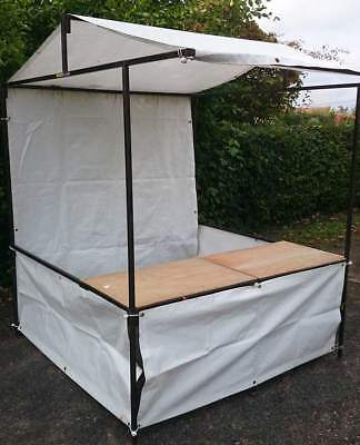 Market Stall 6ft x 6ft with weights