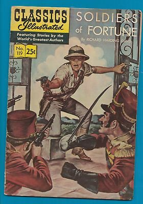 Classics Illustrated Comic Book 1970  Soldiers of Fortune # 119   #076