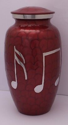 Adult Cremation Urn for Ashes Large Funeral Memorial Ash container Red Last Urn