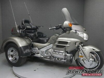 Honda GL1800 GOLDWING 1800 TRIKE  2002 Honda GL1800 GOLDWING 1800 TRIKE Used FREE SHIPPING OVER $5000