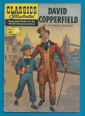 Classics Illustrated Comic  # 48. David Copperfield - Charles Dickens  #775